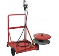 Bơm mỡ bằng khí nén dùng cho thùng/phi 180 kg