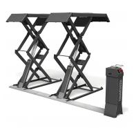 Cầu nâng cắt kéo nâng bụng chìm sàn kiểu Jumbo Lift