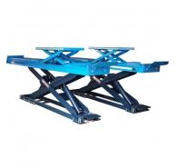 Cầu nâng cắt kéo dùng cho kiểm tra góc đặt bánh xe + bàn nâng phụ