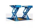 Cầu nâng cắt kéo và hai trụ kết hợp