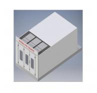 Phòng phủ Ceramic vách cứng cho xe con - Công suất 1.0kW