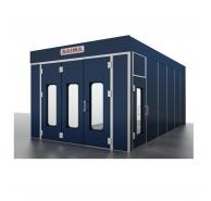 Phòng sơn sấy điện với bộ xử lý mùi than hoạt tính