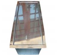 Thùng inox chứa ống hút khí xả -XM-TNINOX